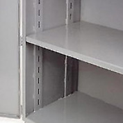 "Jamco Additional Shelf 448AT-GP - For Heavy Duty Storage Cabinet 48""W x 36""D Gray"