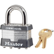 "Master Lock® Keyed Padlock - 15/16"" Shackle - Keyed Alike"