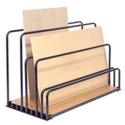 "Adjustable Floor Sheet Rack 48""L x 24""W x 36""H"