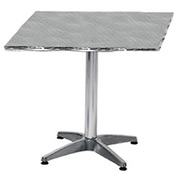 Square 28x28 Stainless Steel Table