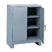 Lyon Counter Height Heavy Duty Storage Cabinet DD1110 - 36x21x46 - Gray