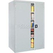 Sandusky Elite Series Storage Cabinet EA4R462478 - 46x24x78, Gray