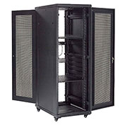 "Network Server Data Rack Enclosure Cabinet with Vented Doors 37U 72"" - Unassembled"