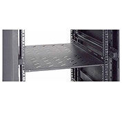 "Global Industrial™ Vented Shelf, 19-1/2""W x 29-1/4""D x 2-7/8""H, Black"