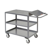 Jamco Three Shelf Order Picking Cart LO360 60x30 Flush Top Shelf