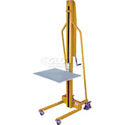 Wesco® Hand Winch Operated Office Lift Truck 272467 220 Lb. Cap.