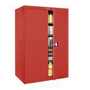 Sandusky Elite Series Storage Cabinet EA4R462478 - 46x24x78, Red