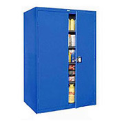 Sandusky Elite Series Storage Cabinet EA4R462478 - 46x24x78, Blue