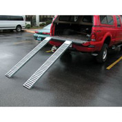 "Vestil Pair of Steel Pickup Truck & Van Ramps RAMP-72 72"" 500 Lb. Capacity"