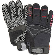 Ergodyne® ProFlex® 821 Silicone Handler Gloves - Black, Small, 1 Pair