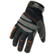 Ergodyne® ProFlex® 710 Full-Finger Mechanic's Gloves - Black, Medium, 1 Pair