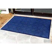 "Outdoor Scraper Entrance Mat 1/4"" Thick 36"" X 60"" Blue"