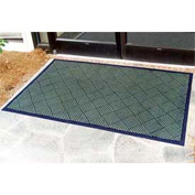 "Outdoor Scraper Entrance Mat 1/4"" Thick 48"" X 72"" Green"