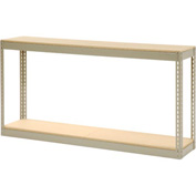 """Record Storage Rack Without Boxes 72""""W x 15""""D x 36""""H"""