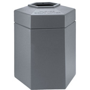 Waste Receptacle - 45 Gallon Gray