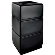 Waste Receptacle - 38 Gallon Black