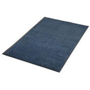 Plush Super Absorbent Mat 4'W Cut Length Up To 60ft. Blue
