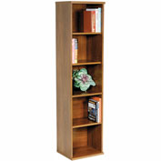 Single Bookcase In Natural Cherry - Office Furniture Groupings