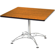 "36"" Lunchroom Table Square Cherry"