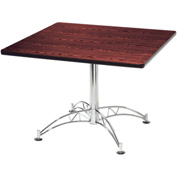 "OFM 42"" Lunchroom Table - Square - Mahogany"