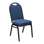 Westchester Fabric Stackable Chair Blue - Pkg Qty 4