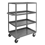 Jamco Heavy Duty Shelf Truck CD136 4 Shelves 36x18 3000 Lb. Capacity