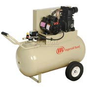 Ingersoll-Rand Portable Air Compressor SS3F2-GM/20104196, 115V, 2HP, 30 Gal, with Start-Up Kit