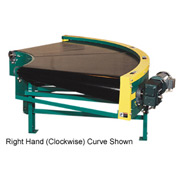 "Omni Power Turn Belt Conveyor BCCU-PT36-90RH 12""W 90 Degree Right Curve 36 Degree Radius 3/4 HP"