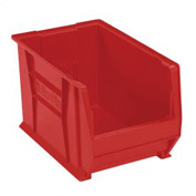 "Akro-Mils Super-Size AkroBin® 30282 - Stacking Bin 12-3/8""W x 20""D x 12""H Red - Pkg Qty 2"