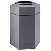 30 Gallon Waste Receptacle Gray 737103