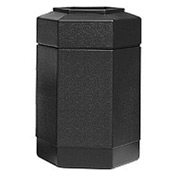 30 Gallon Waste Receptacle Black 737101