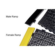 YELLOW FEMALE RAMP 12in X 2.5in