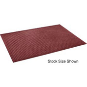 "Heavyweight Indoor Entrance Mat 3/8"" Thick 120""W Cut Length Up To 60 Ft Red"