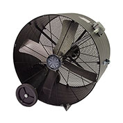 TPI PB48BHL,48 Inch Portable Blower Fan Belt Drive Hazardous Location 1 HP 14400 CFM