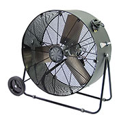 TPI PBS36D,36 Inch Portable Blower Fan Direct Drive Swivel Base 1/3 HP 6500 CFM