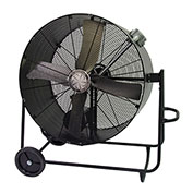 TPI PBS48BHL,48 Inch Portable Blower Fan Belt Drive Swivel Base Hazardous Location 1 HP 14400 CFM