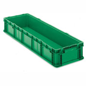 ORBIS Stakpak SO4815-7 Plastic Long Stacking Container 48 x 15 x 7-1/2 Green