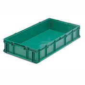 ORBIS Stakpak SO4822-7 Plastic Long Stacking Container 48 x 22-1/2 x 7-1/4 Green