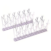 Bird-X Plastic Bird Spikes 10'L - SP-10
