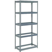 "Extra Heavy Duty Shelving 36""W x 12""D x 72""H With 5 Shelves, No Deck"