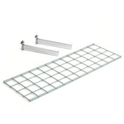 Wire Shelf 36 X 12 With 2 Brackets - Pkg Qty 3