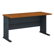 60 Inch Desk in Cherry - Modular Office Furniture
