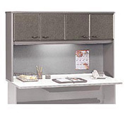60 Inch Hutch in Pewter - Modular Office Furniture