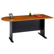 Peninsula in Cherry - Modular Office Furniture