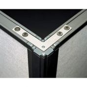90° Corner Connector for Privacy Office Partitions