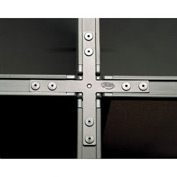 4-Way Connector for Privacy Office Partitions