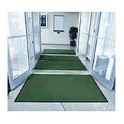 "Entryway Mat Inside Final Drying 48"" W Full 60' Roll Green"