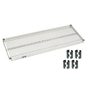 Chrome Wire Shelf 48x24 With Clips
