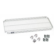 Nexel® E-Z Adjust Shelf 36x24 with Clips & 4 Hooks