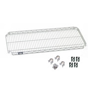 Nexel® E-Z Adjust Shelf 60x18 with Clips & 4 Hooks
